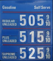 Imagine what $5-a-gallon gas would do to U.S. consumers!