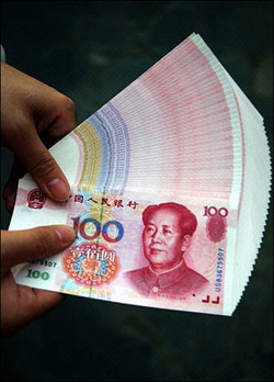 China is caught between a rock and a hard spot in valuing the yuan.