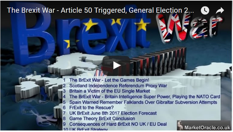 The Brexit War - Article 50 Triggered, General Election 2017 Called