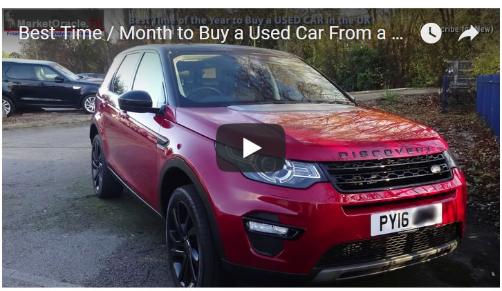 Best Time / Month to Buy a Used Car From a UK Dealer