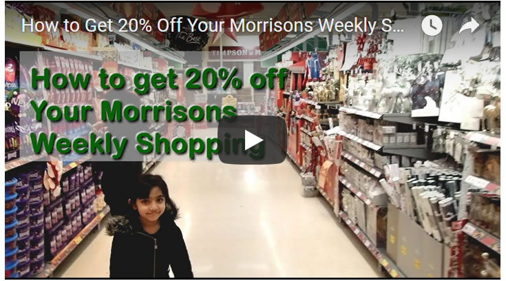 How to Get 20% Off Your Morrisons Weekly Supermarket Shop