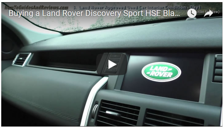 Buying a Land Rover Discovery Sport HSE Black - Exterior - Day 1