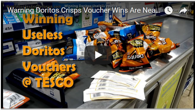 Warning Doritos Crisps Voucher Wins Are Near Useless at Tesco Supermarkets
