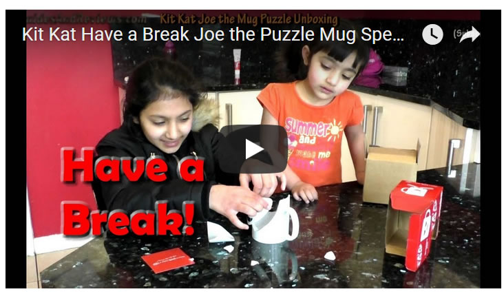 Kit Kat's Broken Joe the Mug Promotion