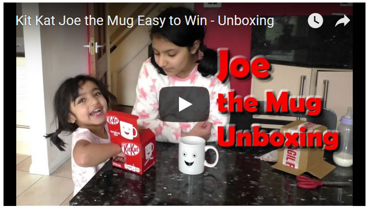 Kit Kat Joe the Mug Easy to Win - Unboxing