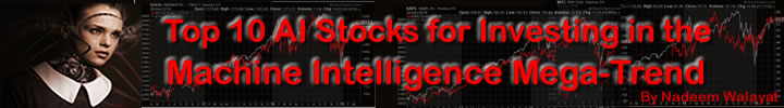 Top 10 AI Stocks Investing to Profit from the Machine Intelligence Mega-trend