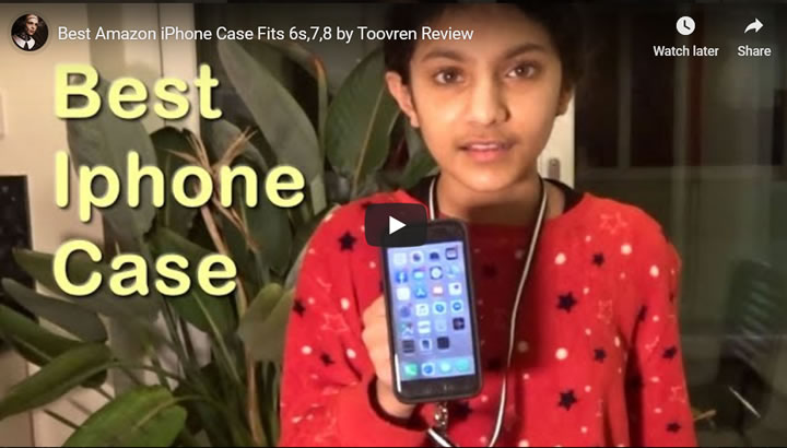 Best Amazon iPhone Case Fits 6s, 7, 8 by Toovren Review