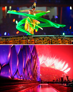 The opening ceremony of the 2008 Beijing Olympics was an awe-inspiring spectacle viewed by an estimated 840 million people around the world.