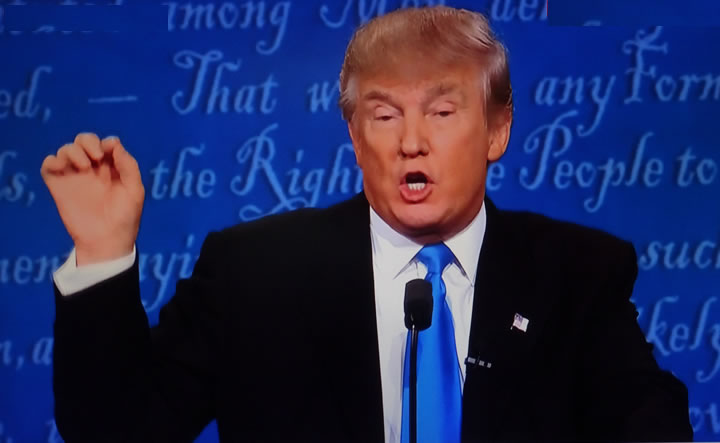 Trump Defends Manhood In Republican Debate