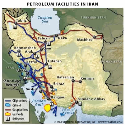 Petroleum Facilities in Iran