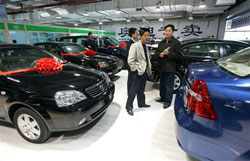 China has become the largest auto market in the world.