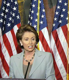 Nancy Pelosi is in favor of yet another stimulus package.