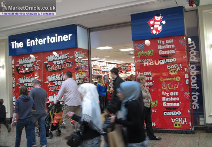 Toys'R'Us UK Faces Job Losses and Pension Fund Troubles