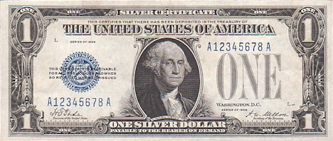 US$1 Silver Certificate