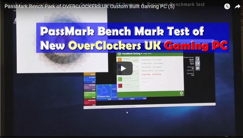 overclockers uk passmark benchmark test - PassMark Bench Mark of OVERCLOCKERS UK Custom Built Gaming PC (5)