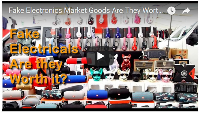 Fake Electronics Market Goods Are They Worth it? Testing Beats Headphones and Karaoke Mike