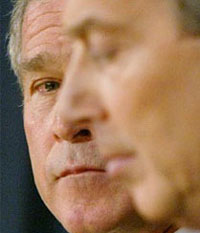 Iraq War - Two lame duck leaders - George Bush and Tony Blair