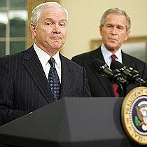 We are losing the war in iraq, admits new US defence secretary , Robert Gates