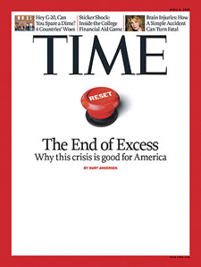 'It's time to return from Oz to Kansas, to become fully reality-based again.' — March 26, TIME Magazine